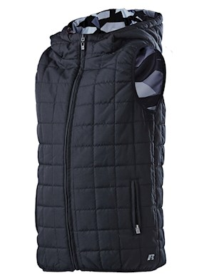 Russell Athletic Reversible No Sleeve Puffa