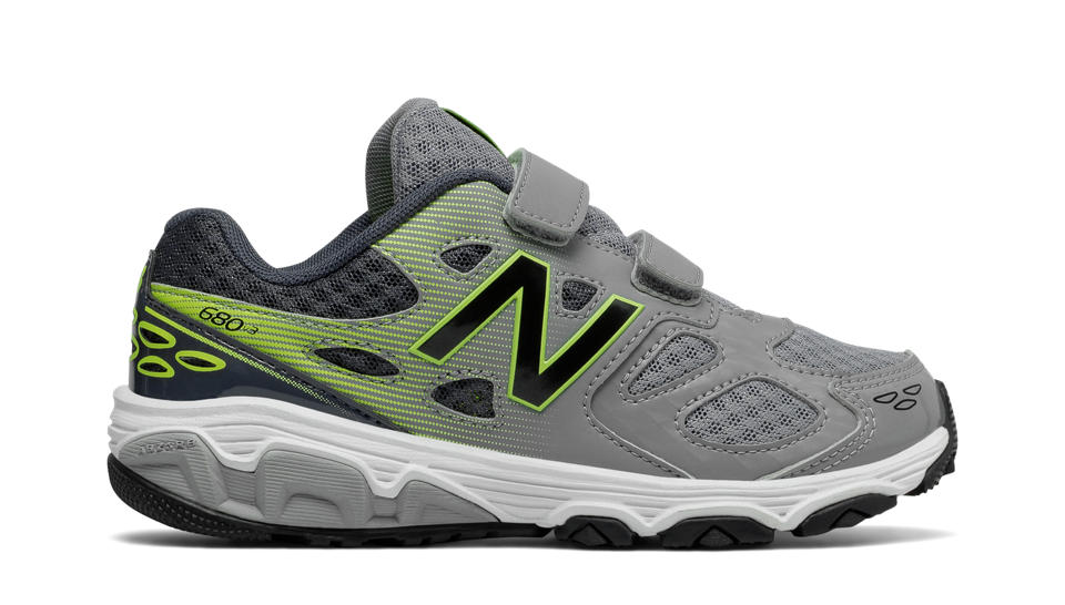 New Balance KV680HGY Velcro Trainer