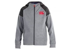 Canterbury  Vaposhield Fleece Zip-Thru' Children's Hooded Jacket ((E753851)